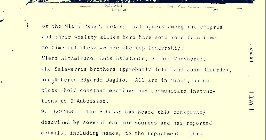 The Miami Six: por qué fueron excluidos del Informe de la Comisión de la Verdad