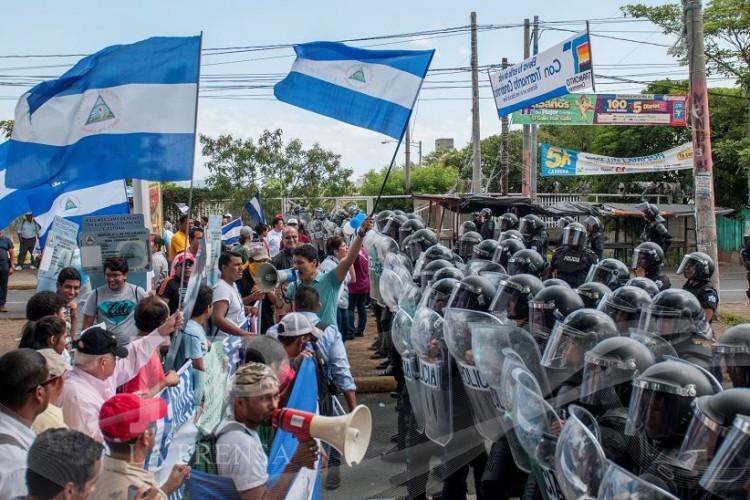 Se partió en Nicaragua…