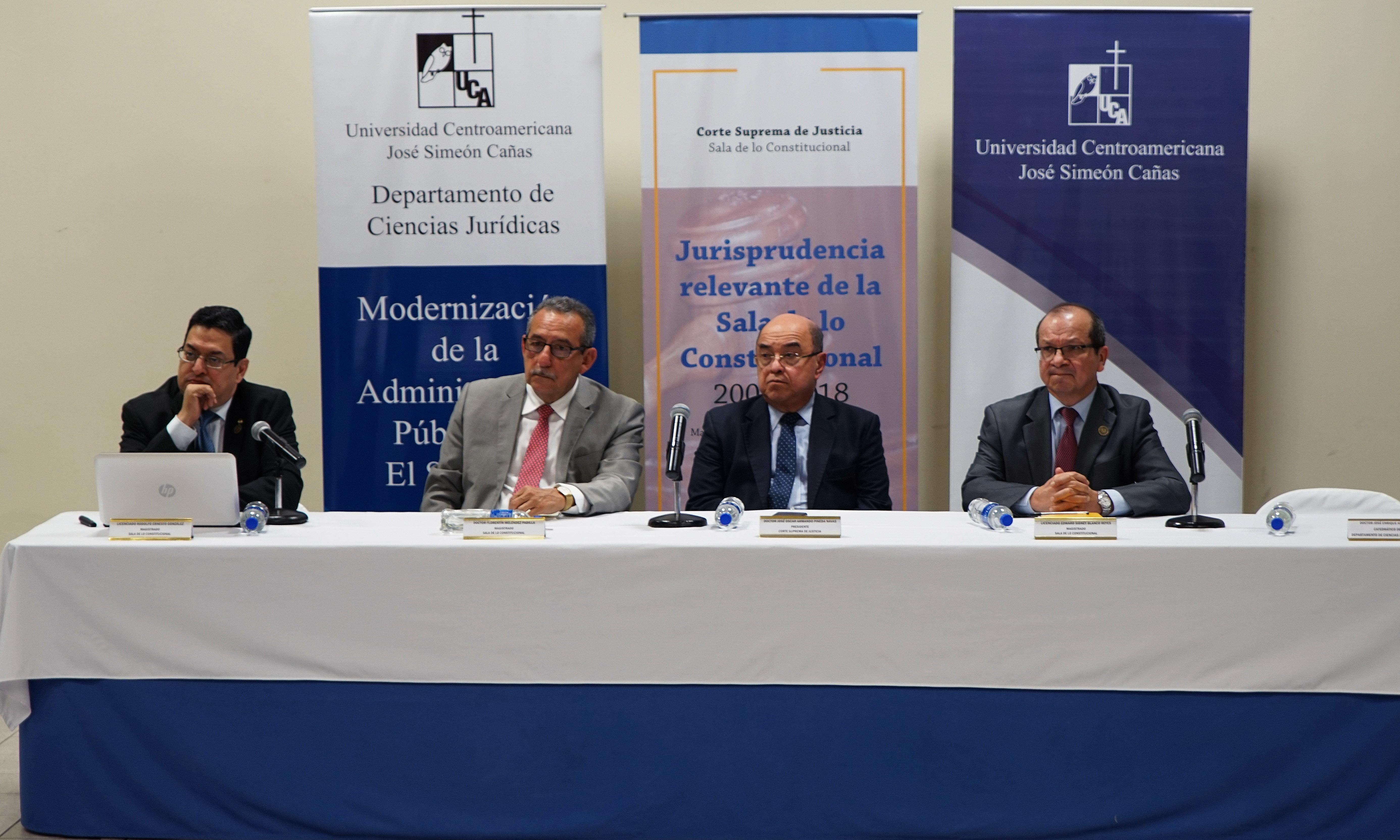 «La Sala de lo Constitucional tiene competencia para incidir en las políticas públicas»
