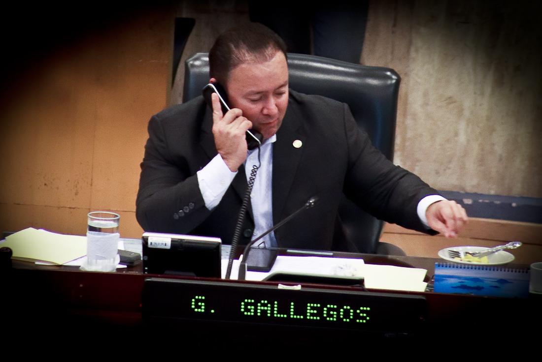Gallegosjustificó crecimiento patrimonial con dinero de Arena