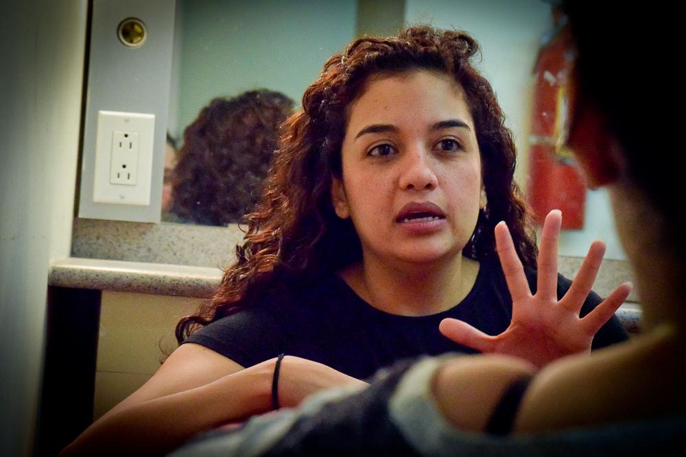 Alejandra Nolasco: «Yo ya hice el espejo. ¡Pues vea qué hace usted también!»