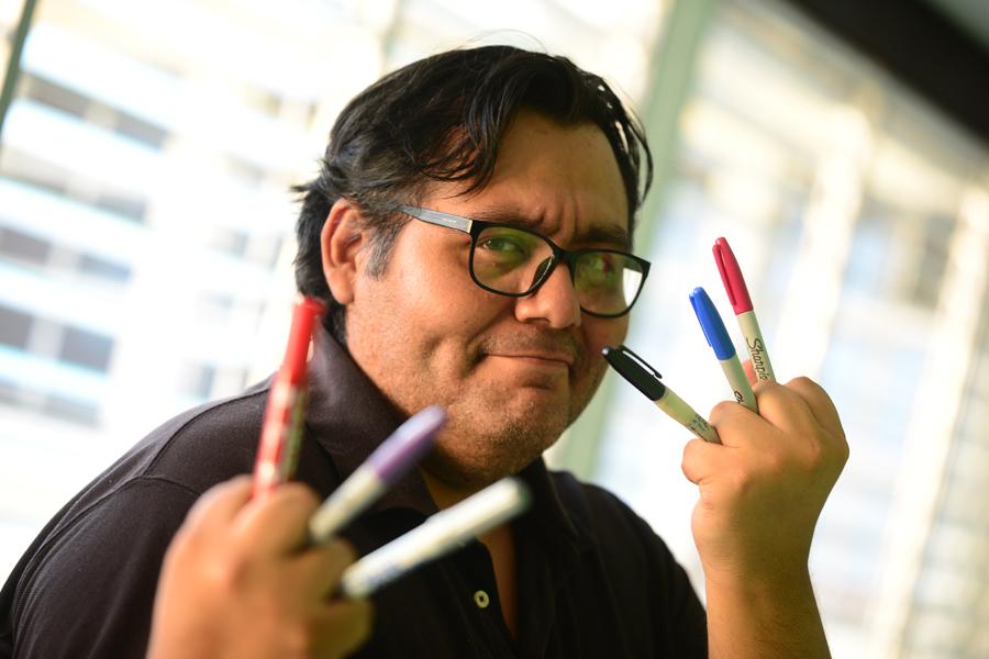 """Genzoman: """"Los latinos hemos perfeccionado lo que otros hacen en ilustración"""""""