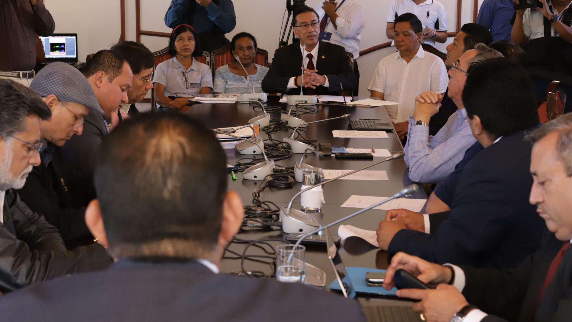 Corte Interamericana ordena detener la nueva amnistía que fraguaban los diputados