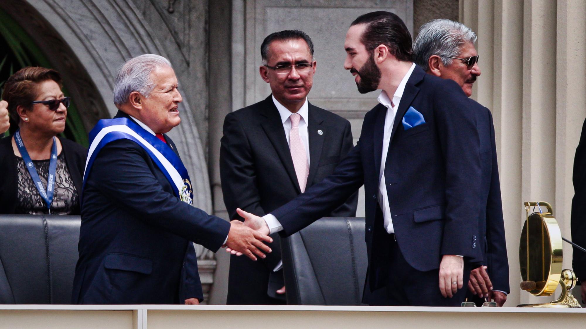 El primer discurso de Nayib Bukele como presidente de El Salvador