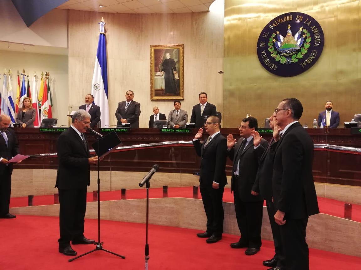 Asamblea nombra al nuevo Tribunal Supremo «Partidario»