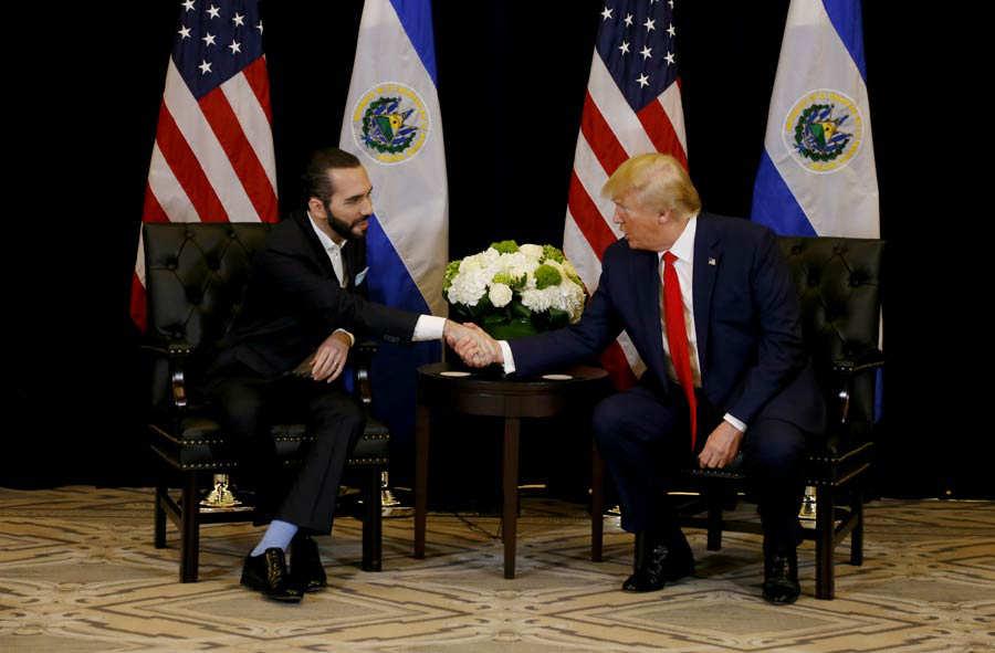 Los migrantes de siempre y los mejores amigos de Donald Trump