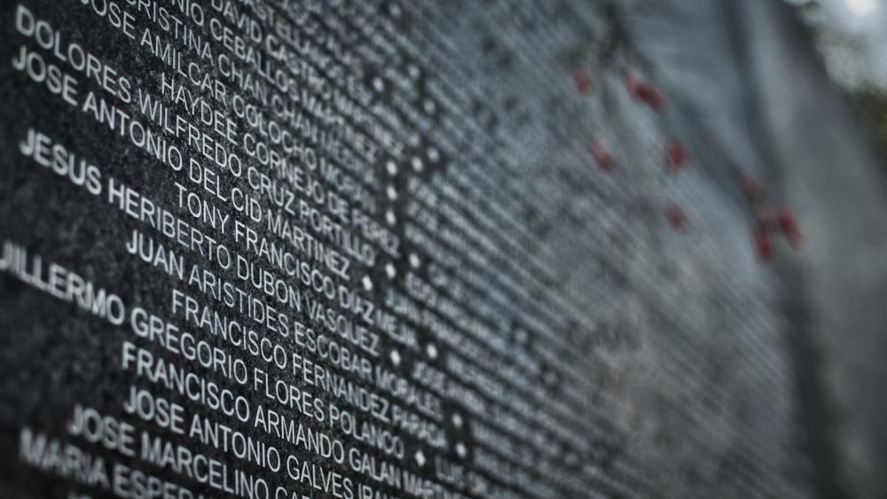 El mapa de los más emblemáticos crímenes de guerra