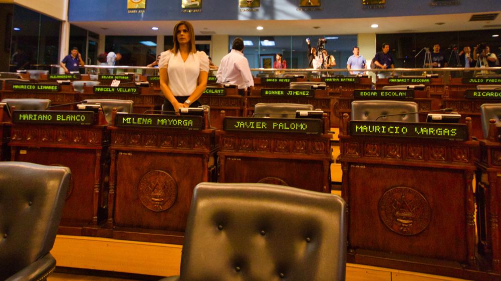La falsa alarma que obligó a cerrar la Asamblea Legislativa