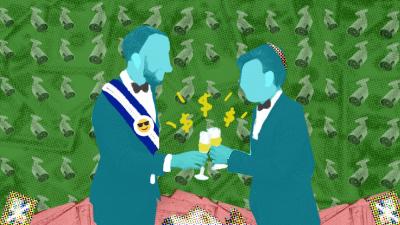 Las dos bodas y los $85 millones del amigo del presidente Bukele
