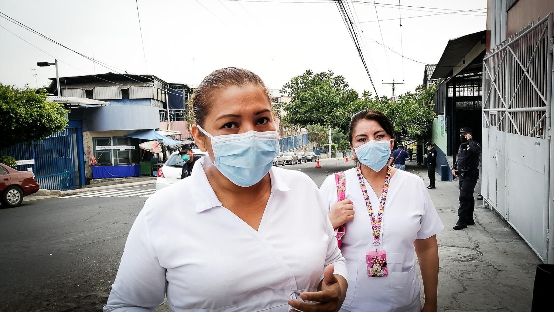 Día 26: Personal de enfermería del Hospital Amatepec solicita apoyo a presidencia
