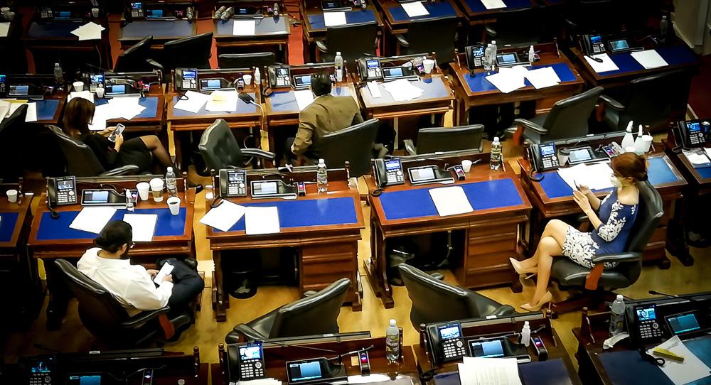La Asamblea plantó una ley para frenar violaciones del gobierno durante la cuarentena