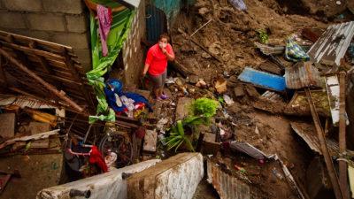 """""""Lo hemos perdido todo"""": una tormenta castigó a los pobres en medio de una pandemia"""