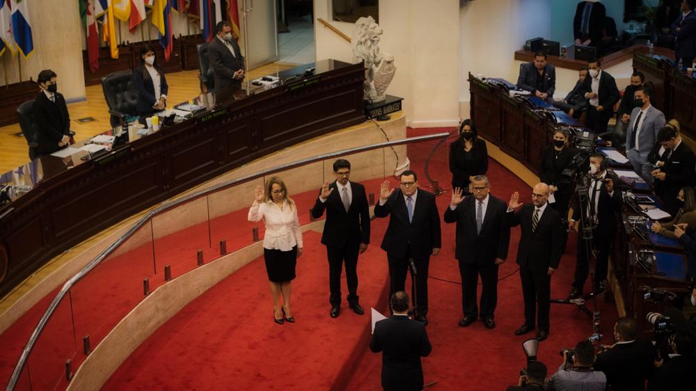 Asamblea estrena coreografía para elegir magistrados