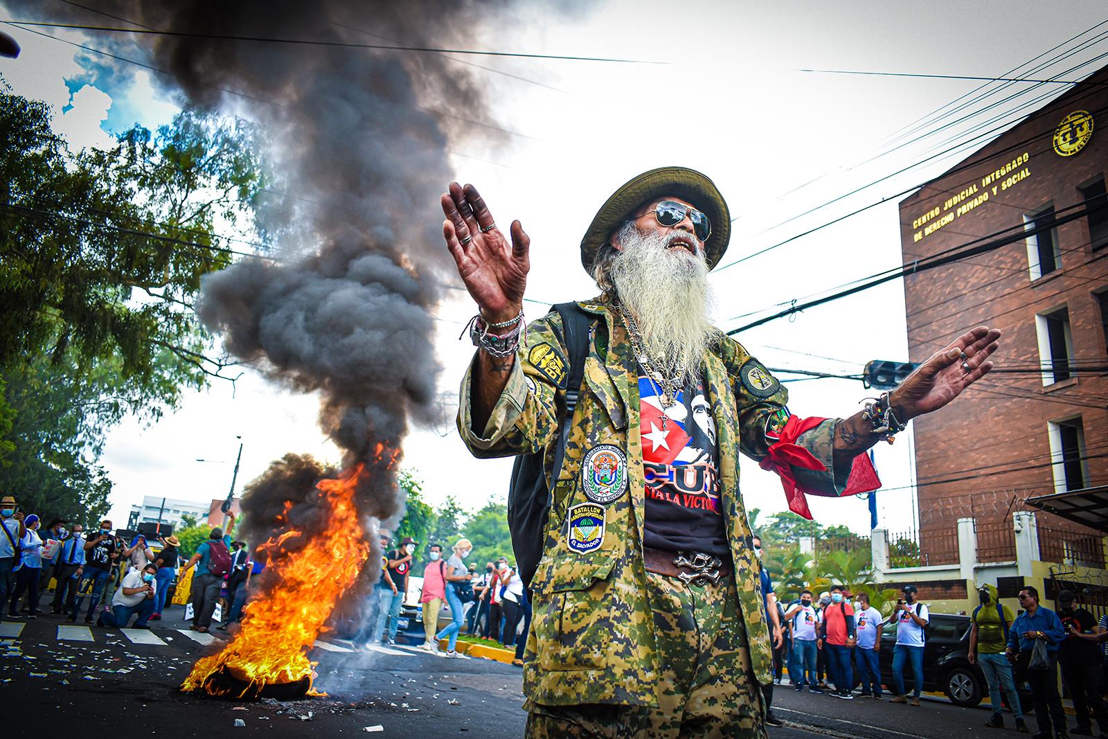 #7S: el cian tampoco fue inmune a las protestas