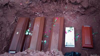 Los dolientes de Chalchuapa no esperan justicia terrenal