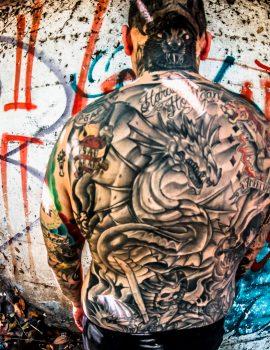 Alex Arana tatoos